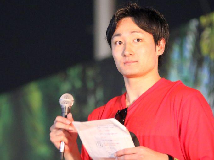 田中大貴が公約実現! 優勝をファンと祝う「オフシーズンだからこそ」イベント