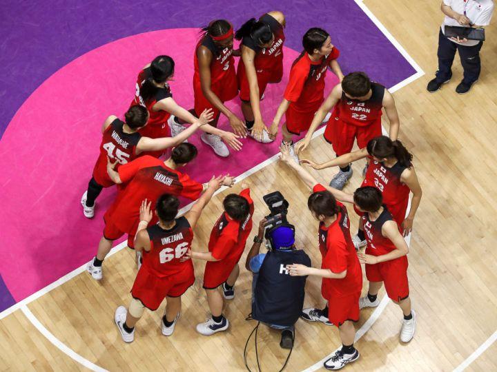 アジア競技大会で金メダルを狙う女子日本代表、チーム一丸の戦いでベスト8進出