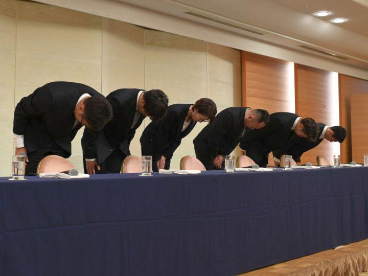 アジア競技大会期間中に買春行為をした永吉、橋本、佐藤、今村に所属クラブも処分