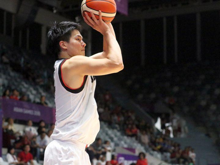 8人のバスケ男子日本代表、アジア競技大会ラストマッチでインドネシアに競り勝つ