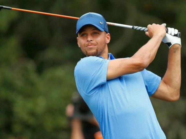 NBA屈指のゴルフ通、ステフィン・カリーが癌と闘う妻を持つプロゴルファーを支援