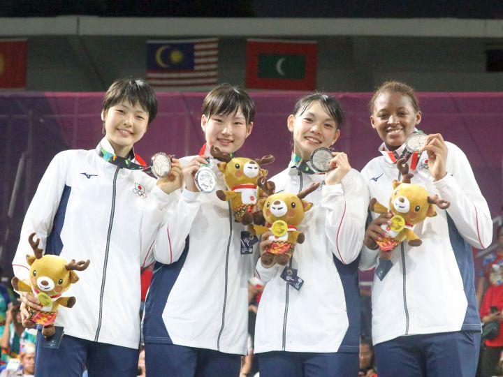 アジア競技大会3人制バスケットボール、女子日本代表が堂々の戦いで銀メダル獲得