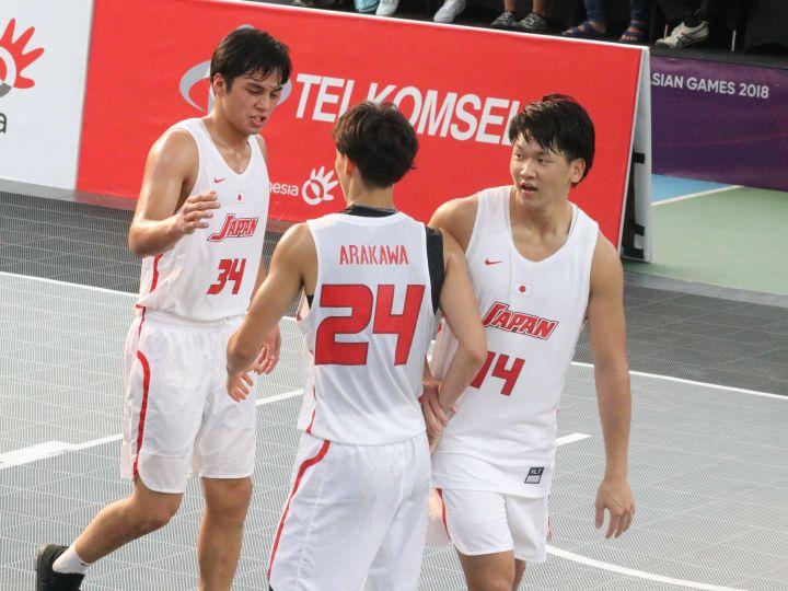 3x3男子日本代表は全試合KO勝利でアジア8強進出「天昇の分も頑張ってメダルを」