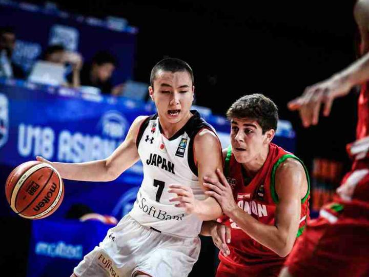 アジアを戦うU-18日本代表、テン...