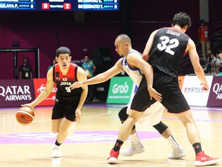8人で戦い続ける男子日本代表は敗れても前へ、ベンドラメ礼生「チームが一つに」