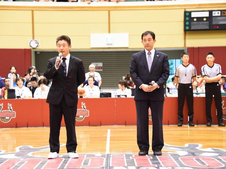 立て続けの不祥事を起こした京都ハンナリーズ、プレシーズンゲームで社長が謝罪