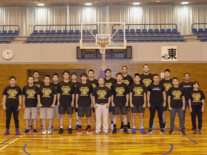 宮城県南三陸町でトレーニングキャンプを開催した仙台89ERS、復興のシンボルへ