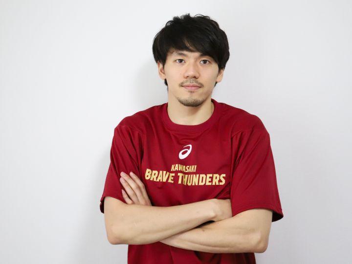 3度目のB開幕、篠山竜青の思い(前編)「面白いと思ってもらえる試合をします」