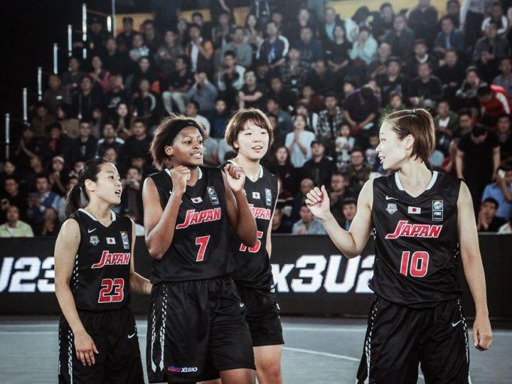 3x3 U-23女子日本代表