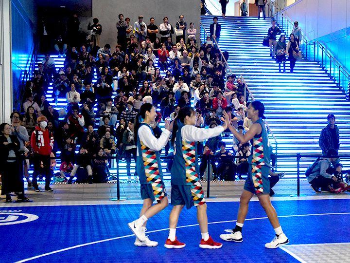 3人制バスケ『3x3』をメジャーにするため再び真剣勝負に挑む元Wリーグ選手たち