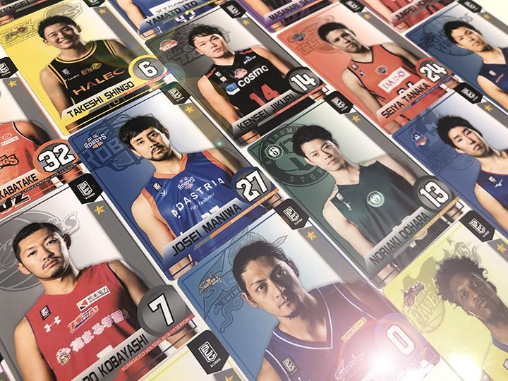 『B.LEAGUEスタンプ』で選手カードがもらえる、B2の全18チームでも実施中!