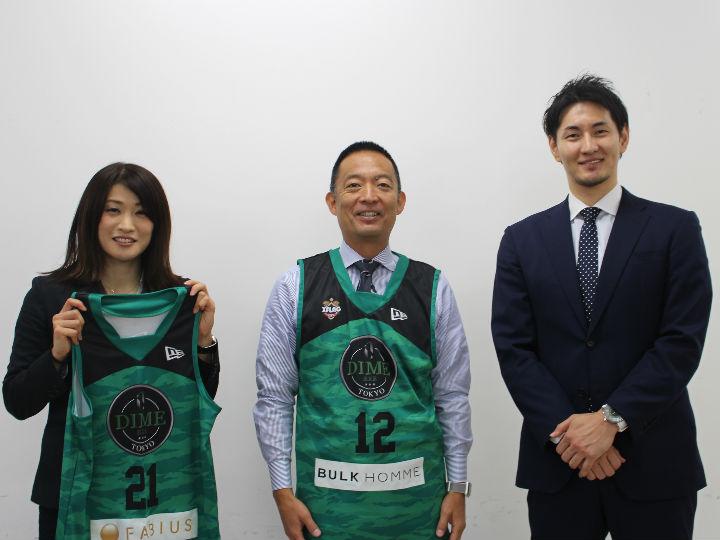 『3x3プレミア』初代女王となったTOKYO DIME、渋谷の長谷部区長を表敬訪問