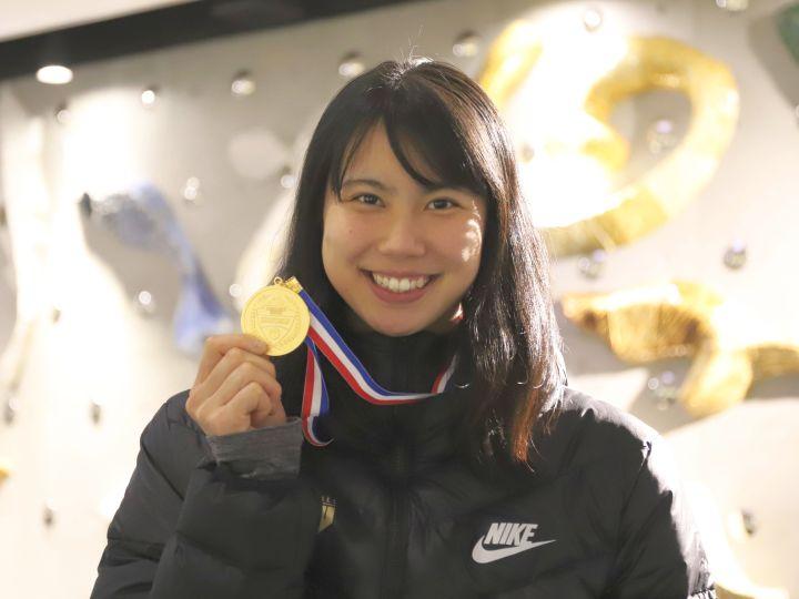 インカレ連覇の東京医療保健大、インサイドで戦い続けた藤本愛妃の「苦しい1年」