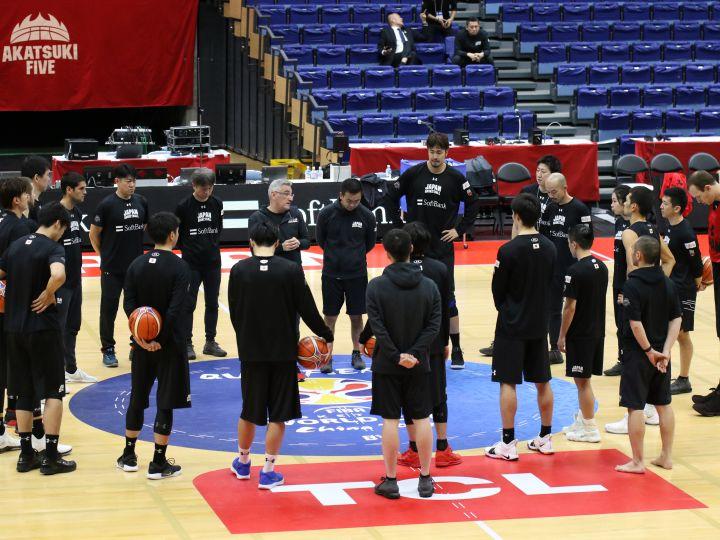 ワールドカップ出場に向け正念場、カザフスタン戦に向けたバスケ日本代表12選手
