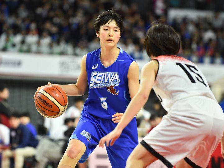 聖和学園のエース今野紀花、高校バスケ最後の挑戦「日本では誰にも負けたくない」