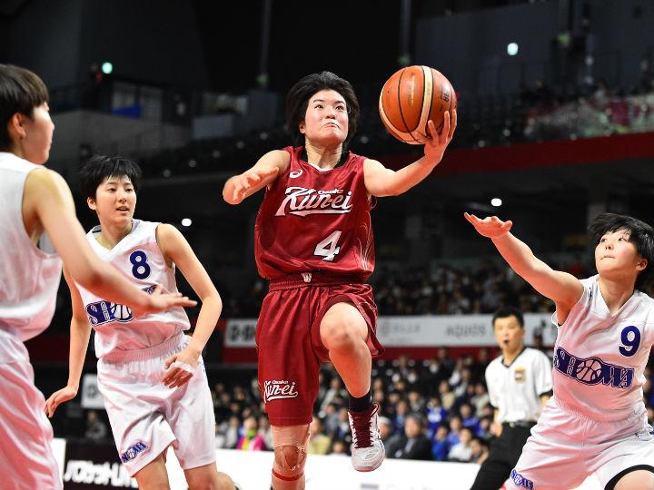 大阪薫英女学院が『強気』のドライブを連発、昭和学院を3点差で下し決勝の舞台へ