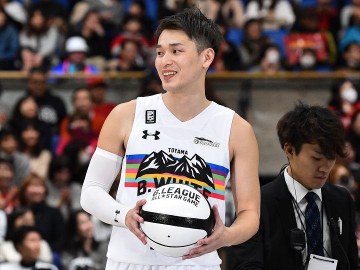 オールスターの主役となった大塚裕土「富山をさらにバスケットで熱狂させたい!」