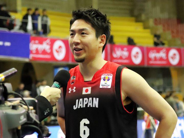 ワールドカップ出場へあと1勝、バスケ日本代表のエース比江島慎はチームに自信