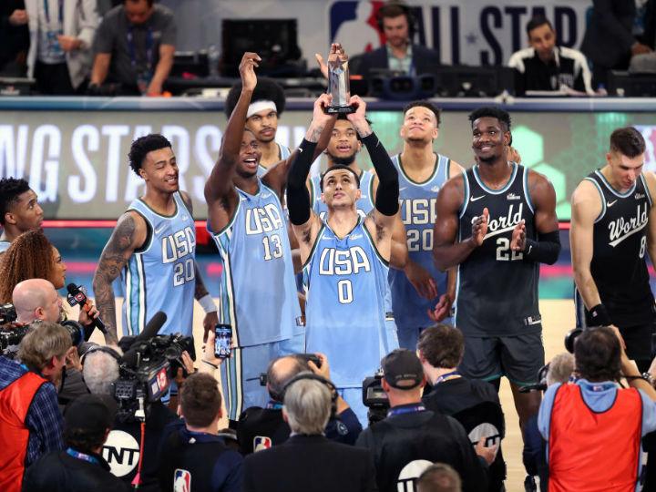 ライジングスターズはU.S.チームが去年のリベンジに成功、MVPは35得点のクーズマ