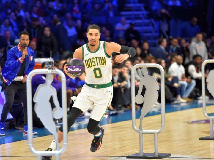 NBAのスキルズチャレンジ、ハーフコートショットでジェイソン・テイタムが優勝