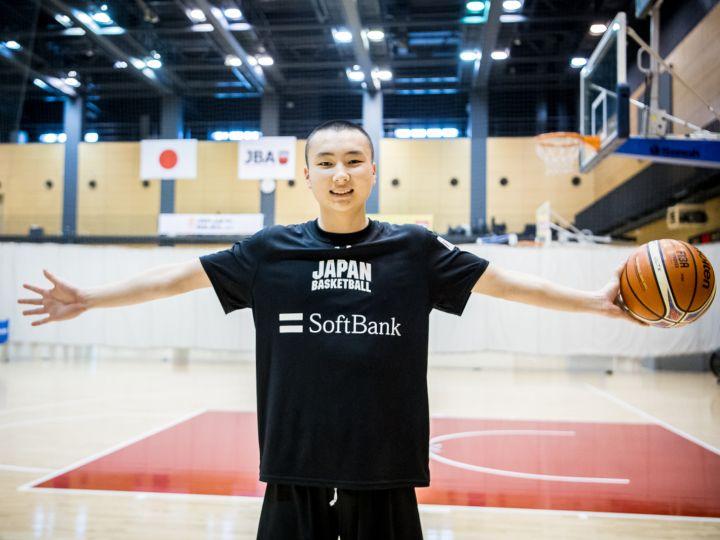 U22日本代表のスプリングキャンプに参加する富永啓生「アメリカで勝負したい!」