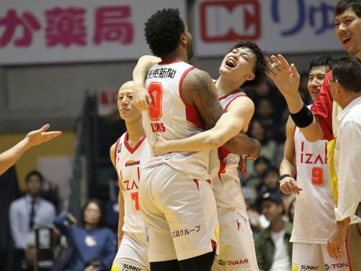 宇都直輝がゲームウィナー、富山グラウジーズが琉球ゴールデンキングスに劇的勝利