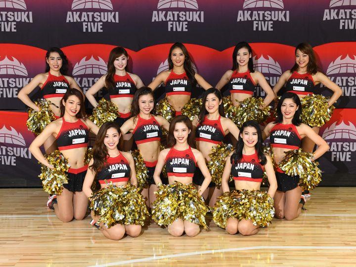 バスケ日本代表に力を与える「AKATSUKIVENUS」第3期のメンバー12名が決定!