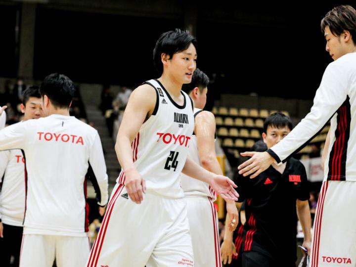 連覇を見据えるA東京の田中大貴「ポジティブなイメージでチャンピオンシップへ」