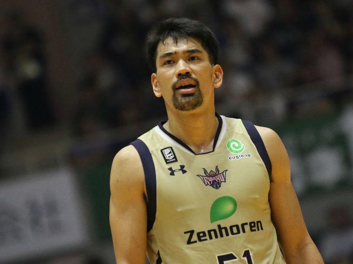 西地区優勝の琉球、古川孝敏はチームを優先も「勝負どころで自分が」と意気込む