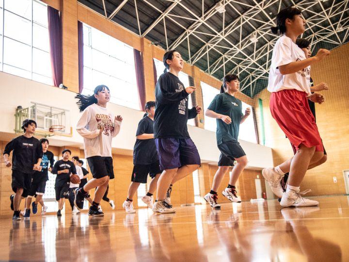 ひた走る!昭和学園高校バスケ部[vol.1]日田のバスケ選手たち、目指せ1回戦突破