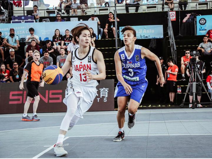 強さを見せつけた3x3女子日本代表、ゲームの主導権を握る連勝でプール1位通過