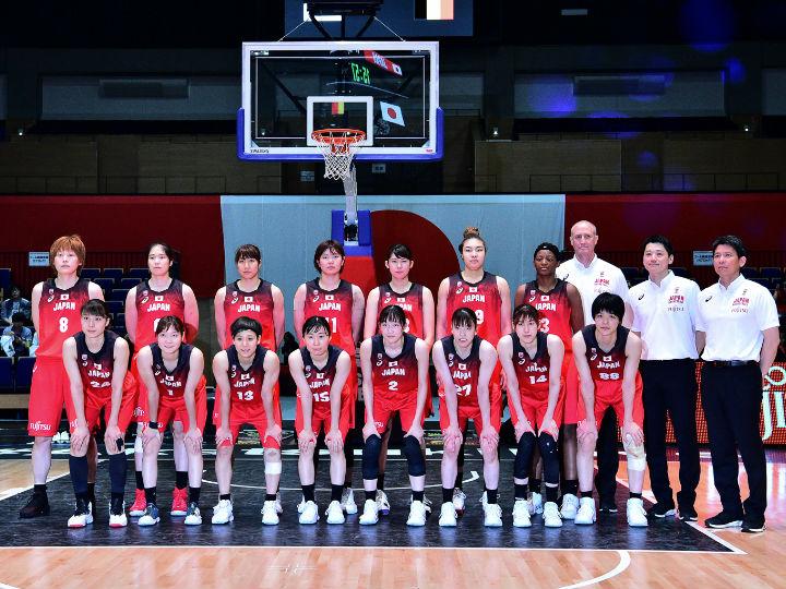 個々が持ち味を発揮したバスケ女子日本代表、ベルギーとの国際強化試合初戦に快勝