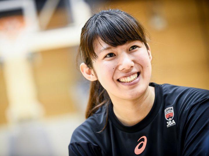 女子バスケ日本代表の新星、走って跳んで奮闘する中田珠未は『超ポジティブ系』