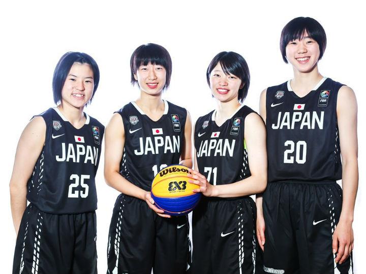 3x3U-18女子日本代表