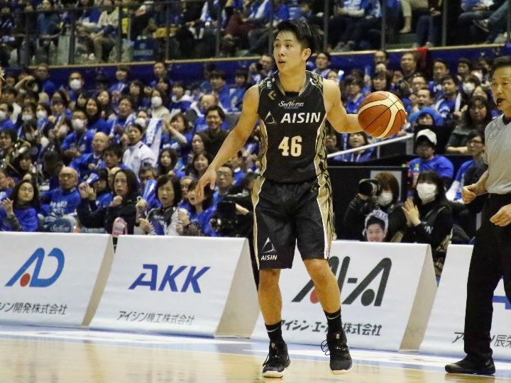 横浜ビー・コルセアーズが日本人選手補強第1号、シーホース三河の生原秀将を獲得