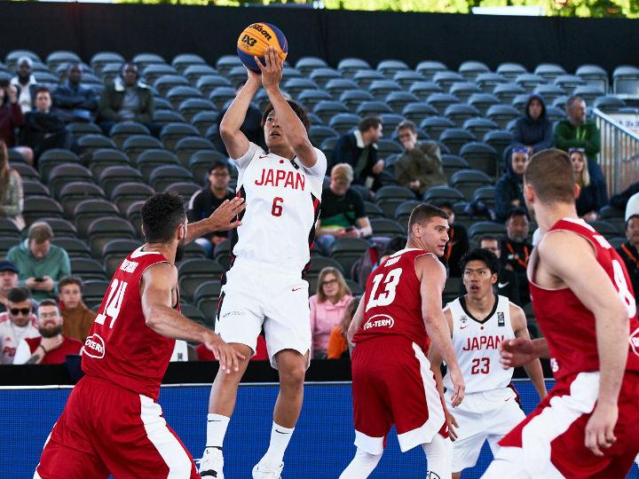 世界に挑んだ3人制バスケ『3x3』日本代表、ポーランドを下すも無念の予選敗退