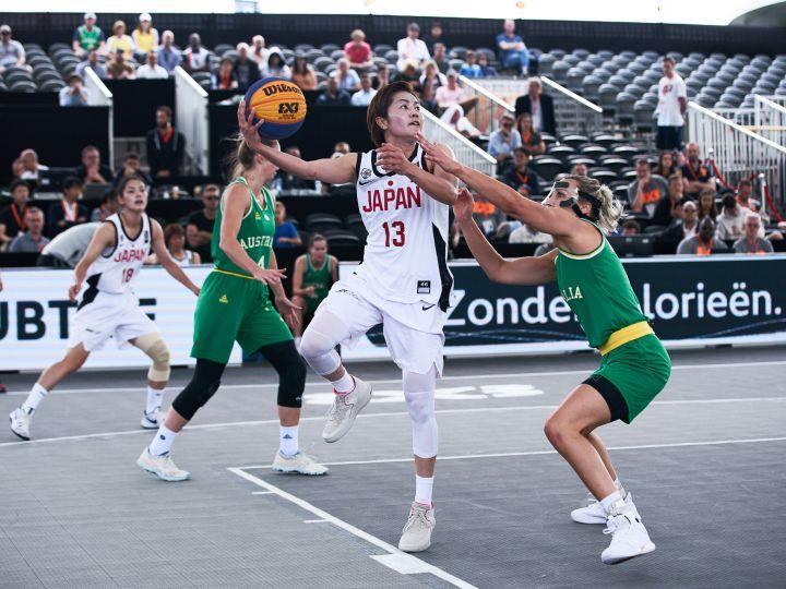 3x3ワールドカップ、女子日本代表は予選ラウンドで敗退「駆け引きがまだ未熟」