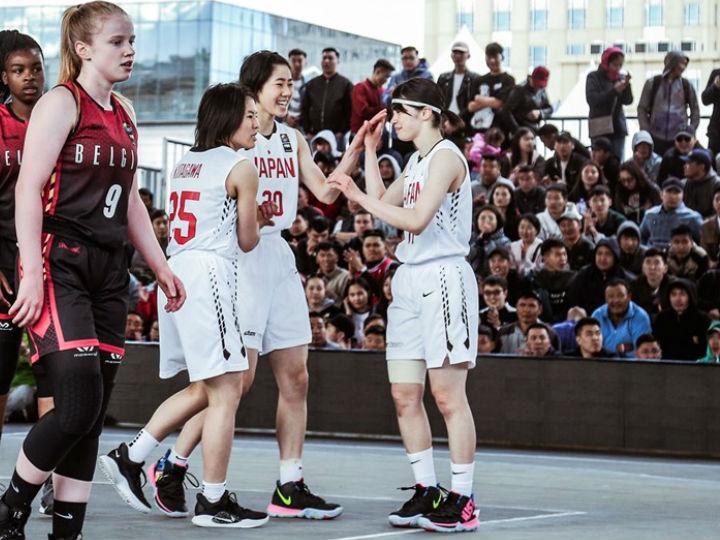 3x3U18女子日本代表