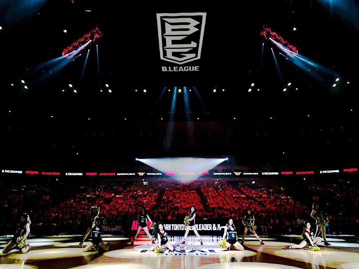 Bリーグ4年目、横浜アリーナでの川崎ブレイブサンダースvs宇都宮ブレックスで開幕
