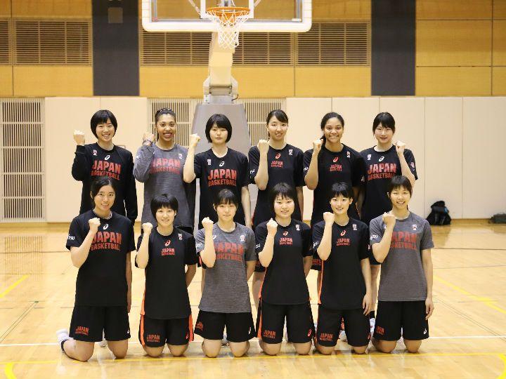 U19ワールドカップで初のメダル獲得に挑む、バスケ女子日本代表チーム12名が決定