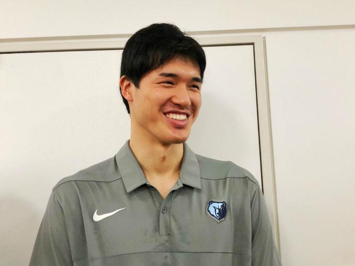 サマーリーグで自信を得た渡邊雄太、日本での束の間のオフに「うどんが食べたい」