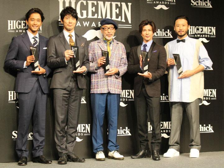 バスケット界のパイオニア田臥勇太に新たな勲章、『HIGEMEN AWARDS』を受賞