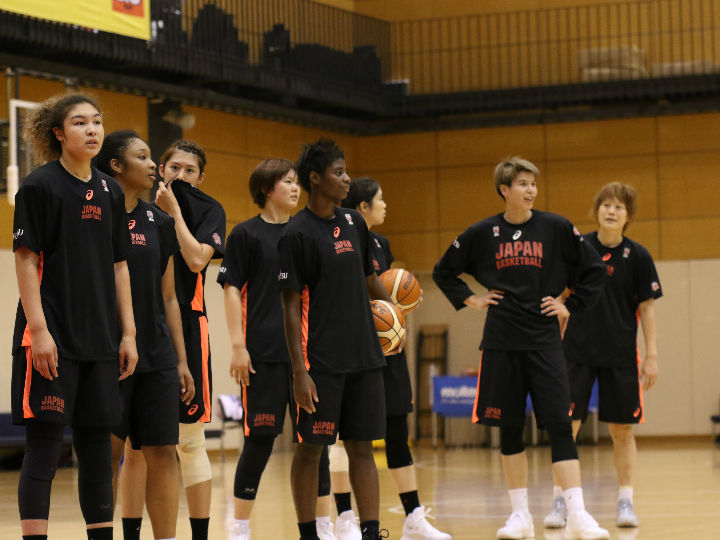 女子日本代表が第7次合宿を開始、渡嘉敷来夢は「走るバスケットをお見せしたい」