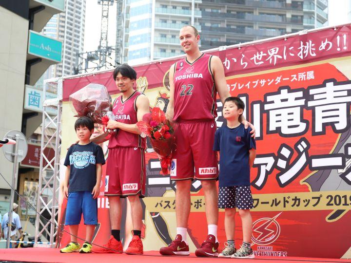 久々に『川崎の』篠山竜青とニック・ファジーカス、リラックスして世界への挑戦へ