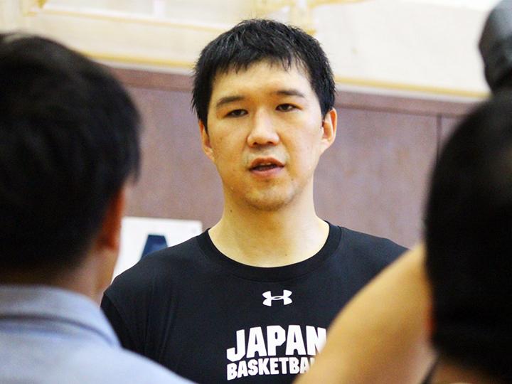 バスケ日本代表、太田敦也の譲れないもの「バスケットのことでは一歩も引かない」