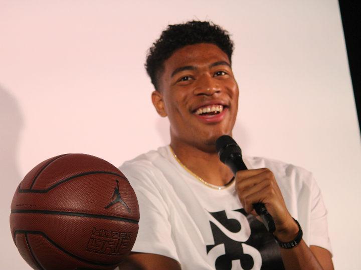 『ジョーダン』のトークショーに登場した八村塁「楽しいからバスケをやっている」