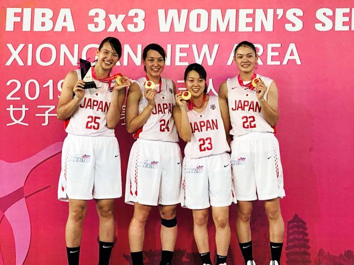 3x3女子日本代表