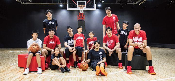 アンダーアーマーがバスケットボール日本代表の公式ライセンス商品の新作を発表!