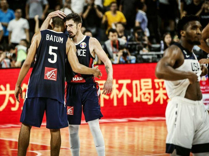 バスケワールドカップの4強が出揃うとともに、スペインとフランスが五輪出場決定