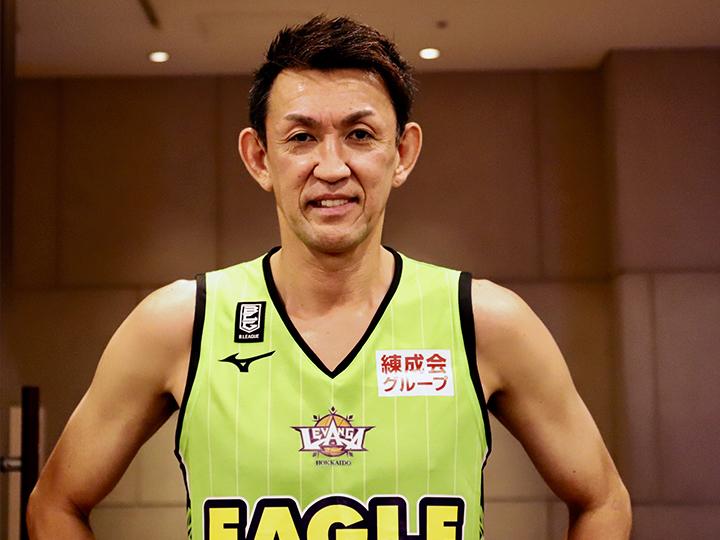49歳で迎える新シーズン、折茂武彦も変わる「すべてのことを一掃して変えていく」